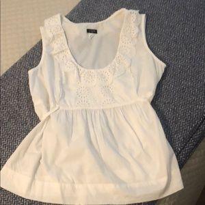 JCrew cotton blouse
